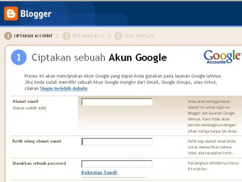 Membuat Aku Google