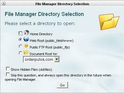 Masuk File Manager