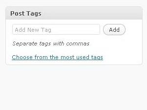 Membuat tag untuk artikel