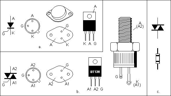 komponen elektronika dasar  u2013 thyristor