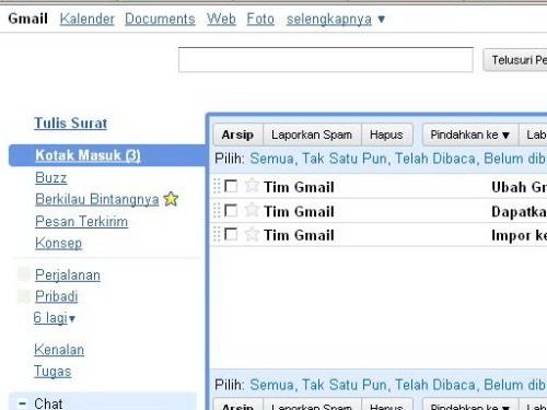 Mengelola Email pada Gmail