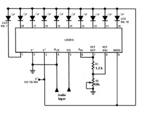 Lm383 Car Audio  lifier Circuit also Vu Meter moreover Led Color Fade Effect Casemod also Quad Audio   Ic additionally Greenhouse Heater Temperature Control. on op amp lm324 datasheet