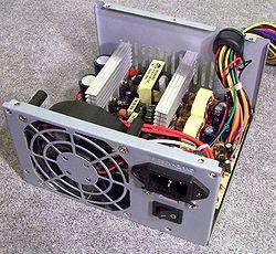 Bagian Dalam Power Supply Komputer