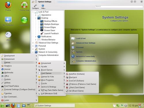 SuSE Desktop