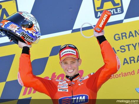 Juara MotoGP Aragon 2010