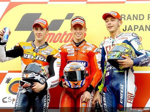 Podium MotoGP Jepang 2010