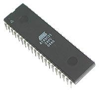 Bentuk fisik IC 89S51 / IC 89S52 DIP 40PIN