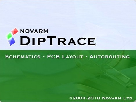 Diptrace - Schematic - Layout - Autorouting