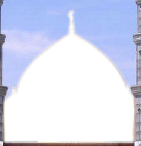 Masjid kubah emas yang telah diedit