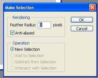 Set make selection