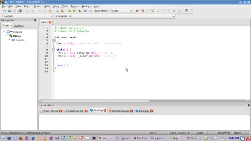 codeblock IDE