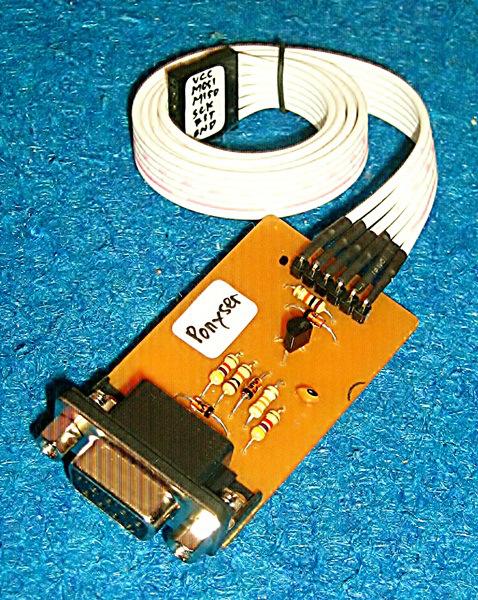 AVR STK Parallel Port Dongle Programmer - PGM